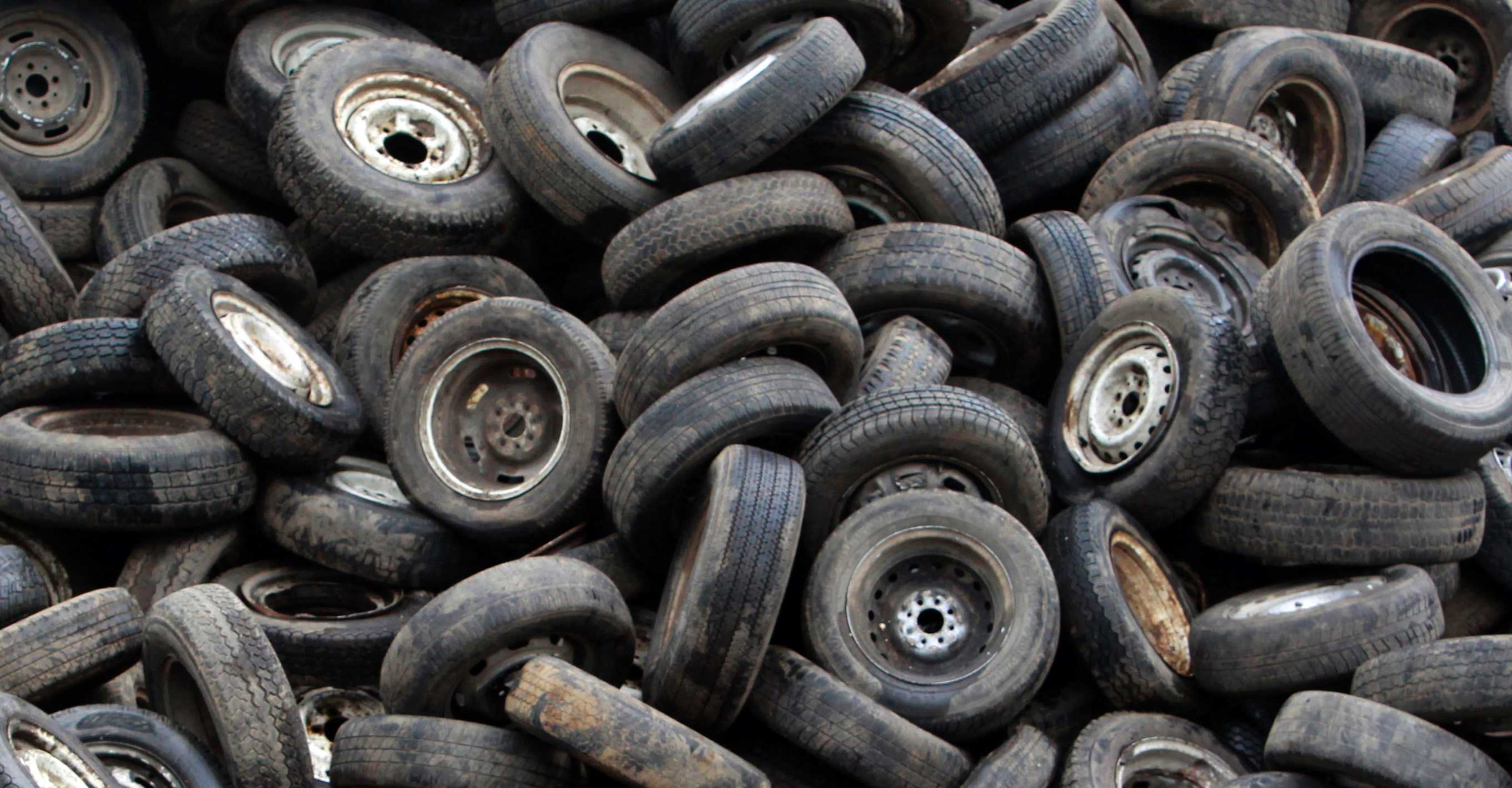 Used tyres data impronta unika for Old tyre uses